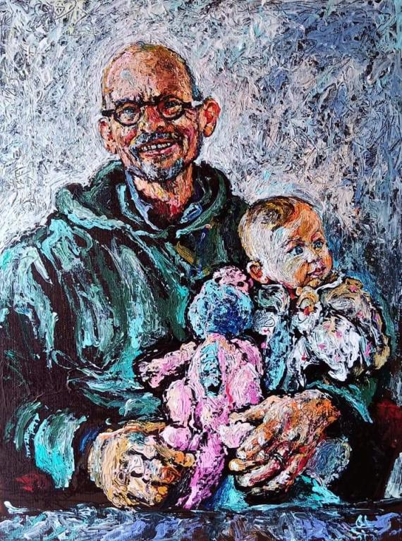 Onkel Claus, smuksak Rosa og dino Dolly